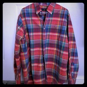 Ralph Lauren Long Sleeve Plaid Button down shirt